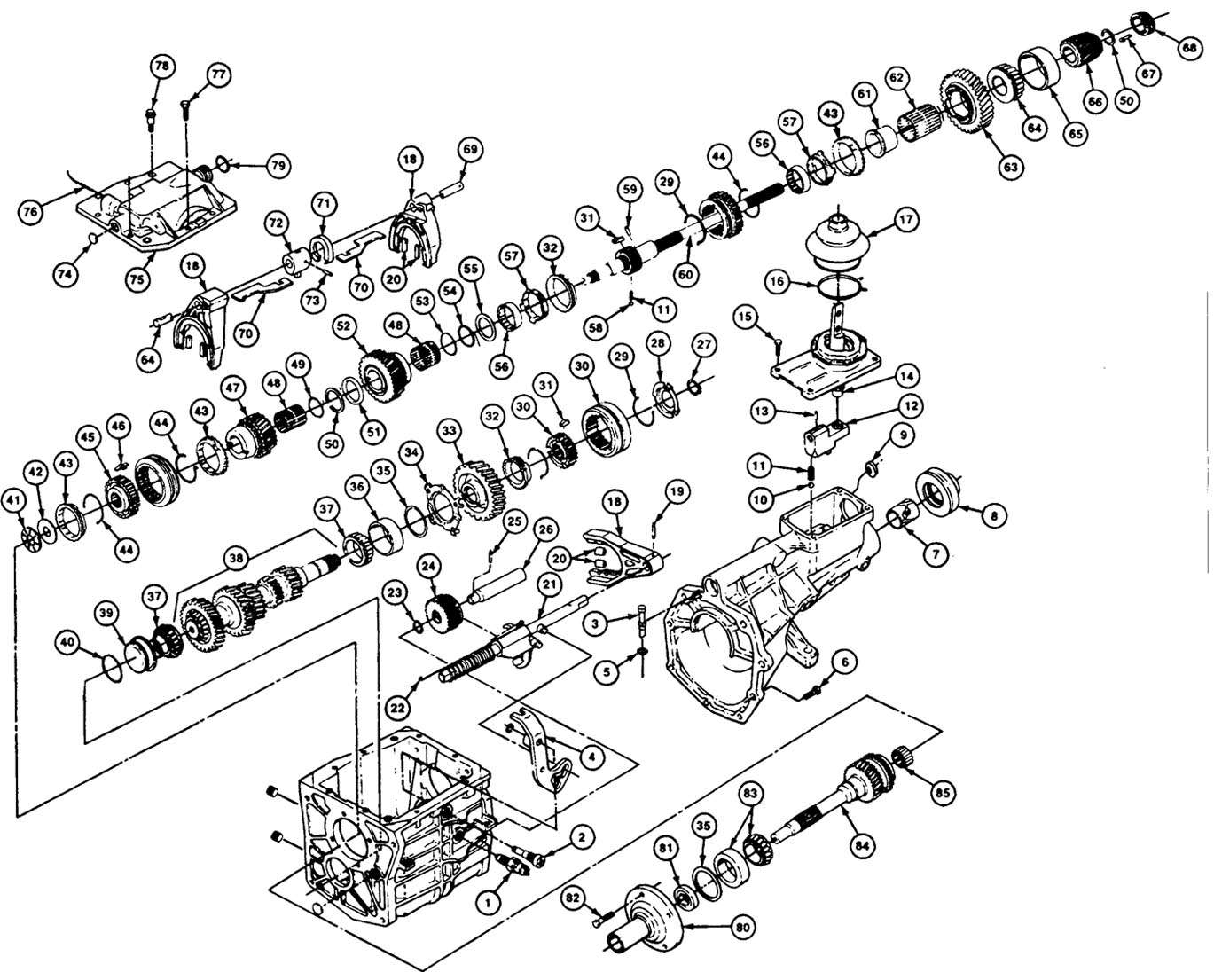 1aki0 1998 Grand Cherokee 4x4 Showing Code P0720 I Ve in addition 1996 F250 4x4 Front Axle Diagram together with 1996 F150 Front Suspension Diagram likewise Ford Truck Manual Service Repair Workshop Owners Pdf as well Transmission Parts Exploded View. on jeep cherokee xj repair manual and service html